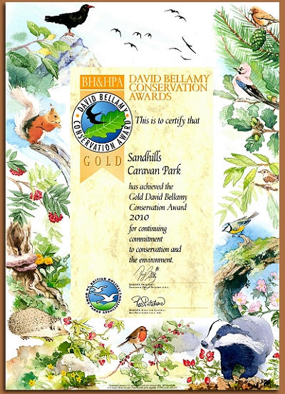 David Bellamy Conservation Awards 2010